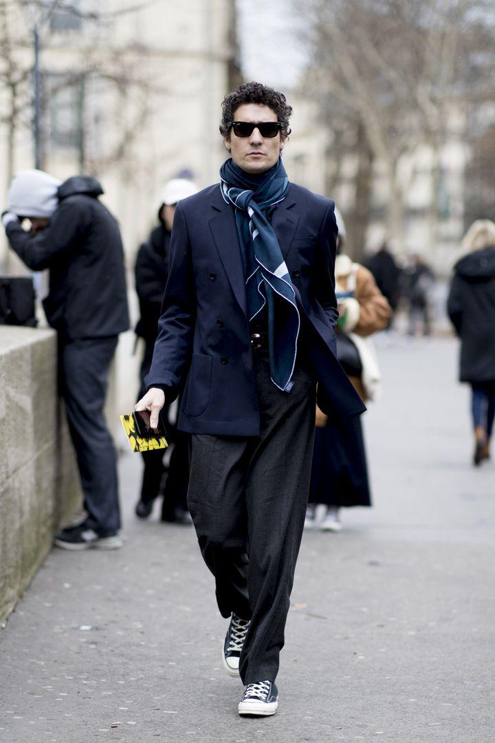 О, эта высокая мода: уличный стиль-вдохновение на улицах Парижа - фото 419574