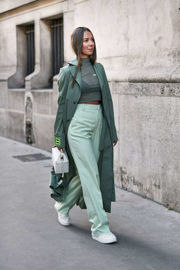 О, эта высокая мода: уличный стиль-вдохновение на улицах Парижа - фото 419575