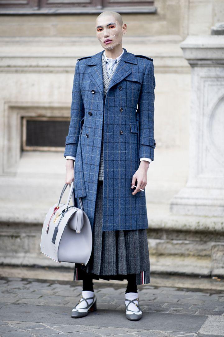 О, эта высокая мода: уличный стиль-вдохновение на улицах Парижа - фото 419578
