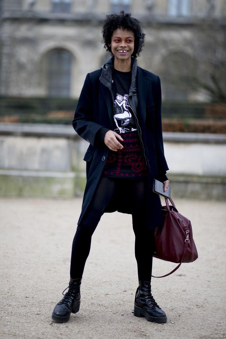 О, эта высокая мода: уличный стиль-вдохновение на улицах Парижа - фото 419582