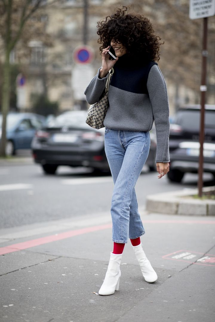 О, эта высокая мода: уличный стиль-вдохновение на улицах Парижа - фото 419583