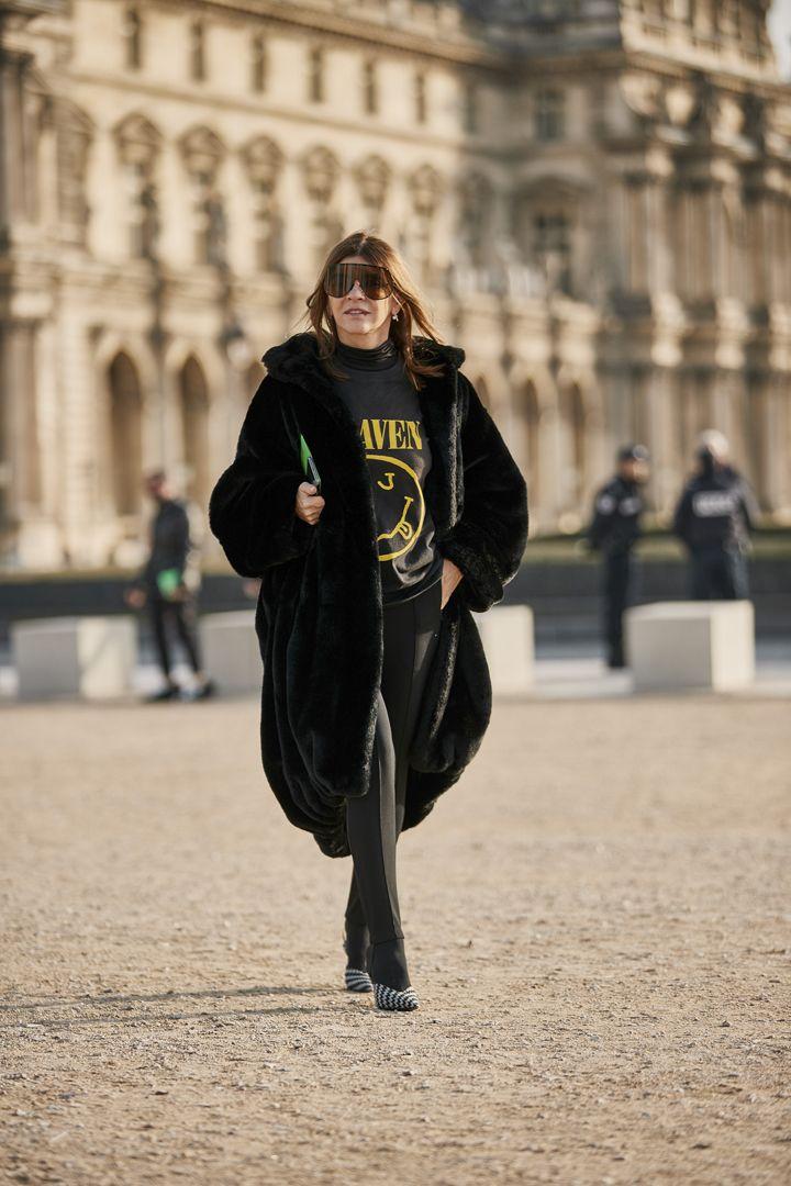 О, эта высокая мода: уличный стиль-вдохновение на улицах Парижа - фото 419586