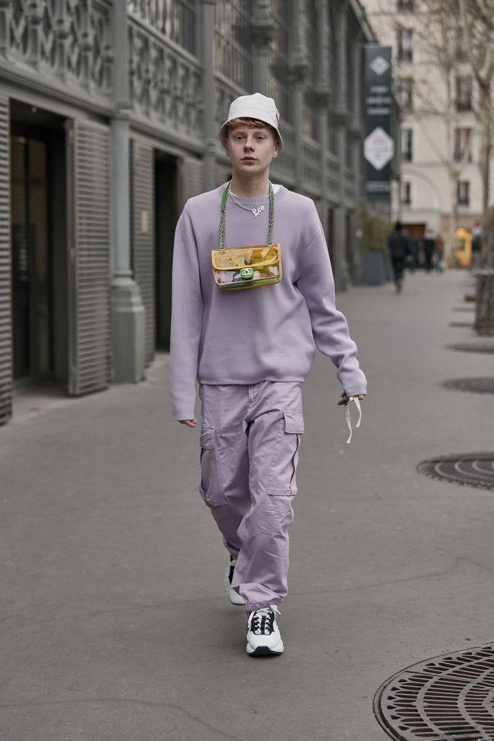 О, эта высокая мода: уличный стиль-вдохновение на улицах Парижа - фото 419587