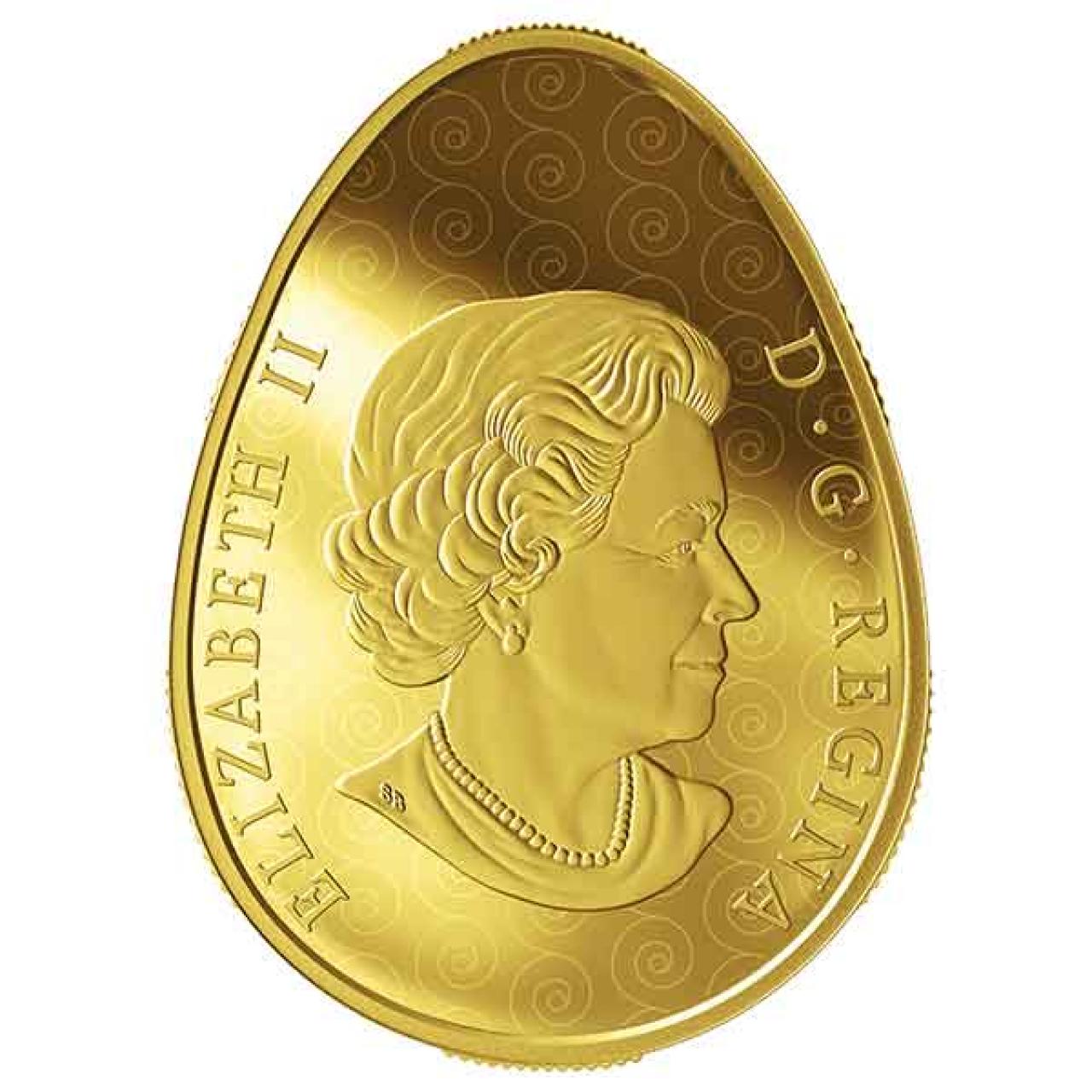 У Канаді випустили золоту монету у формі української писанки – її ціна вражає - фото 429309