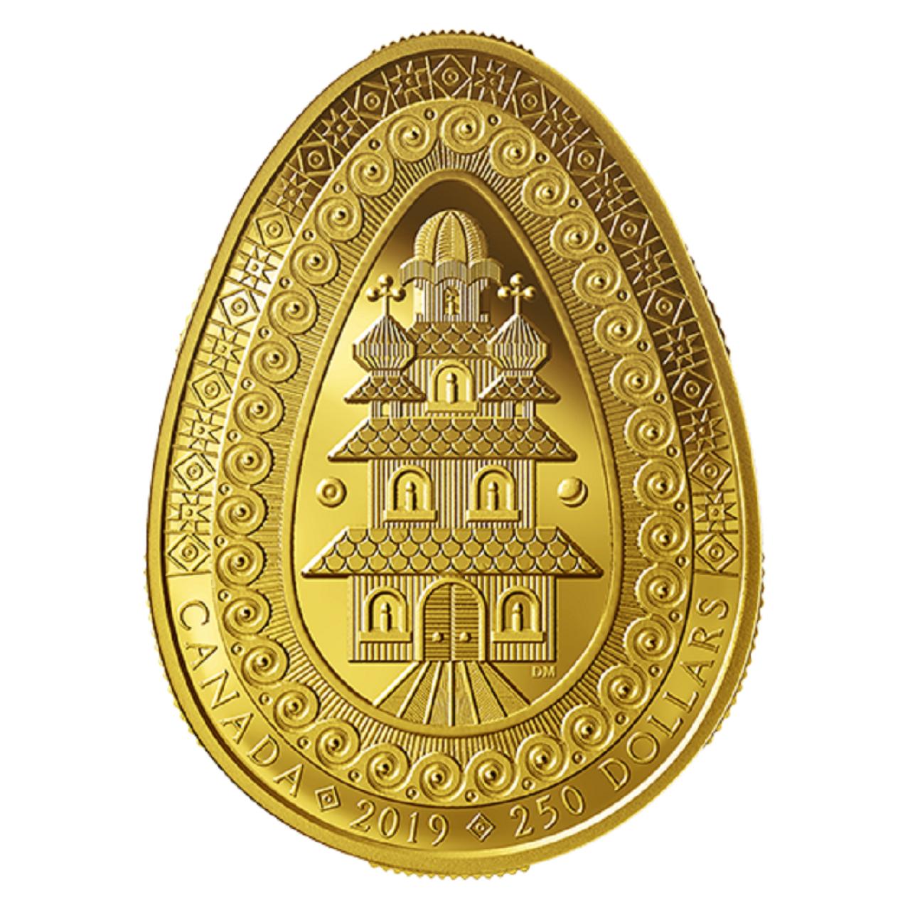 У Канаді випустили золоту монету у формі української писанки – її ціна вражає - фото 429310