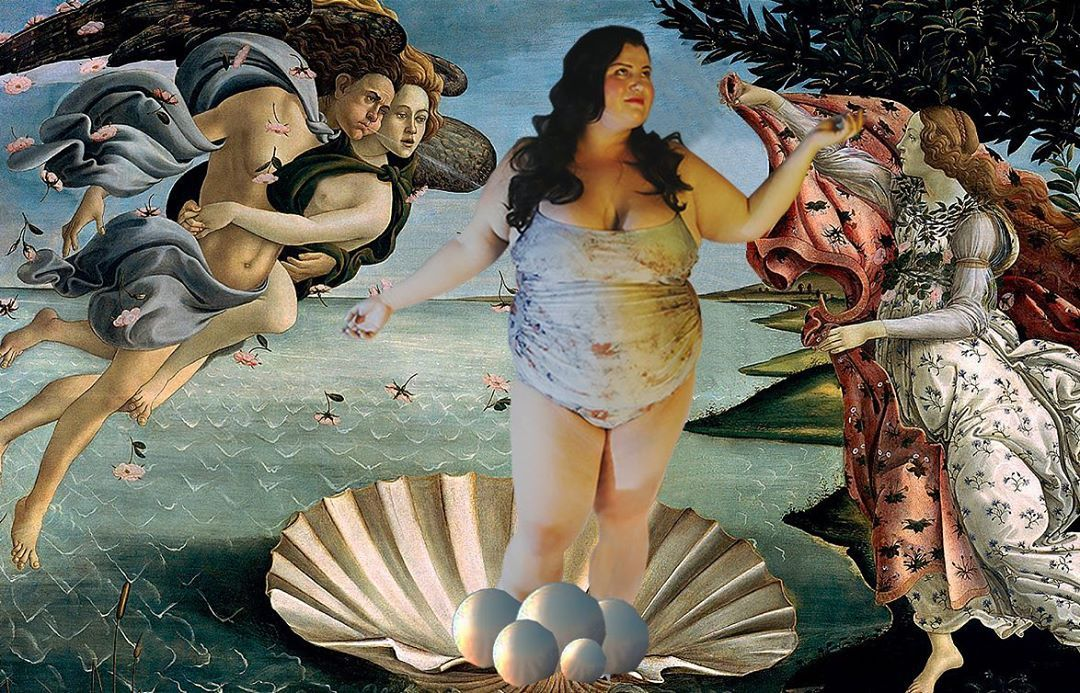 Аlyona Аlyona повторила знамениту картину і показала свої форми в купальнику - фото 430102