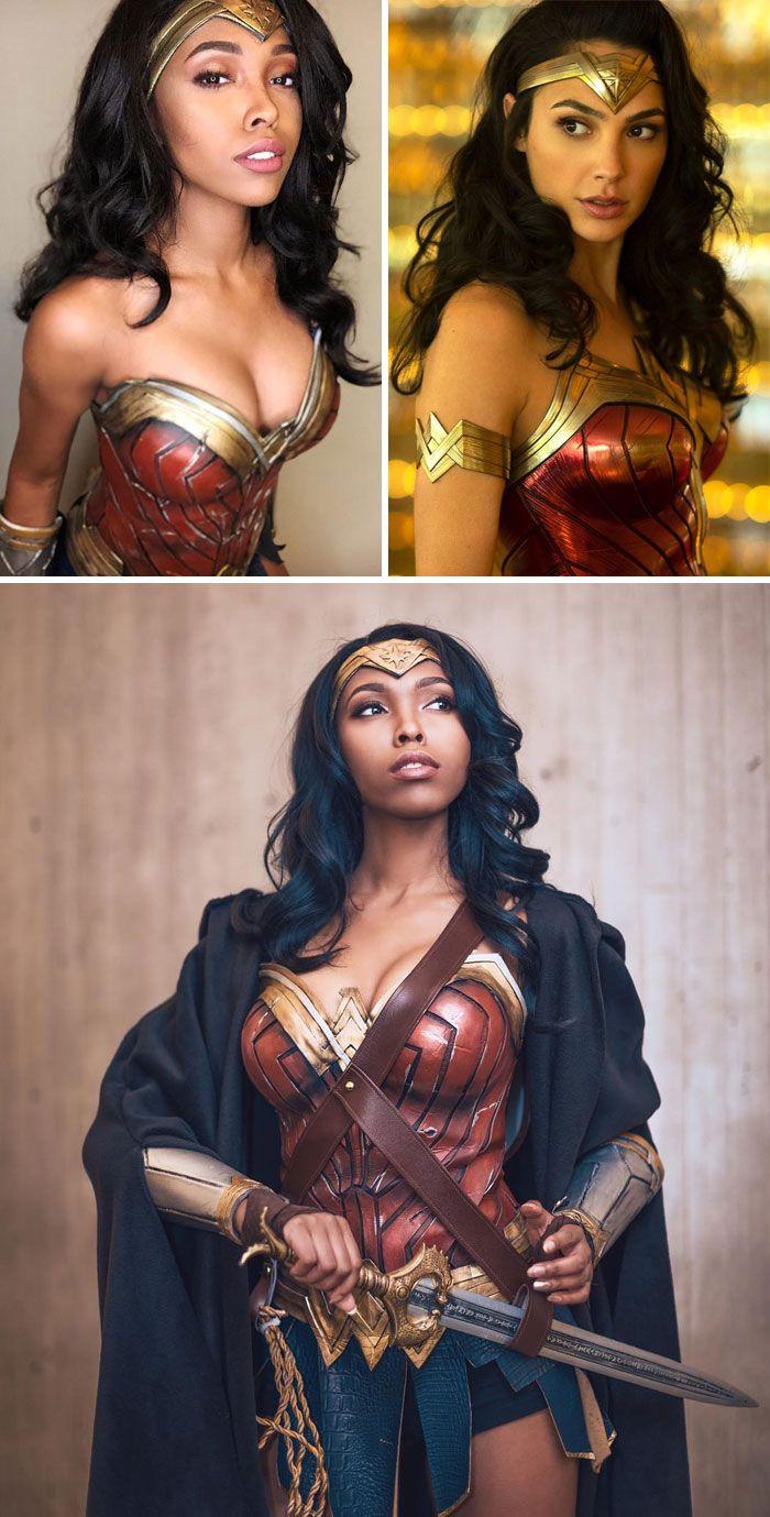 Это не магия, а талант: девушка может превратиться в любого, благодаря крутым костюмам - фото 453790