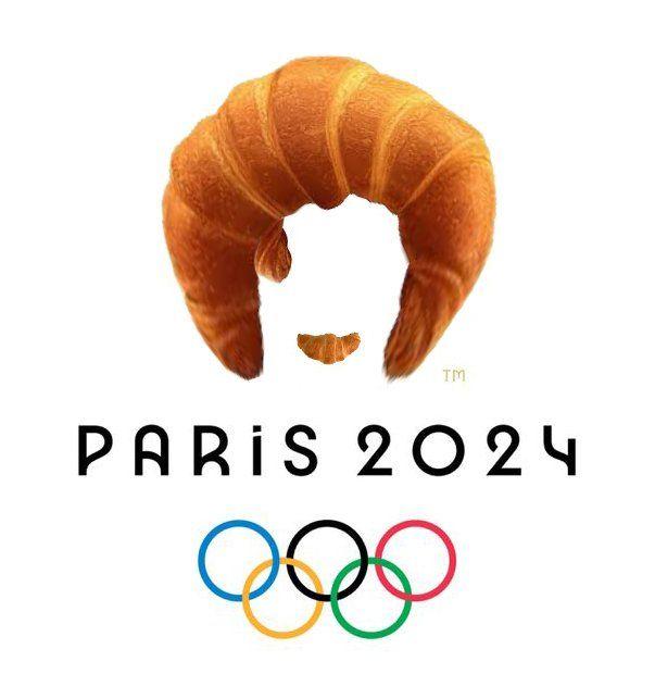 Новый логотип к Олимпиаде 2024 стал шикарным мемом - фото 455091