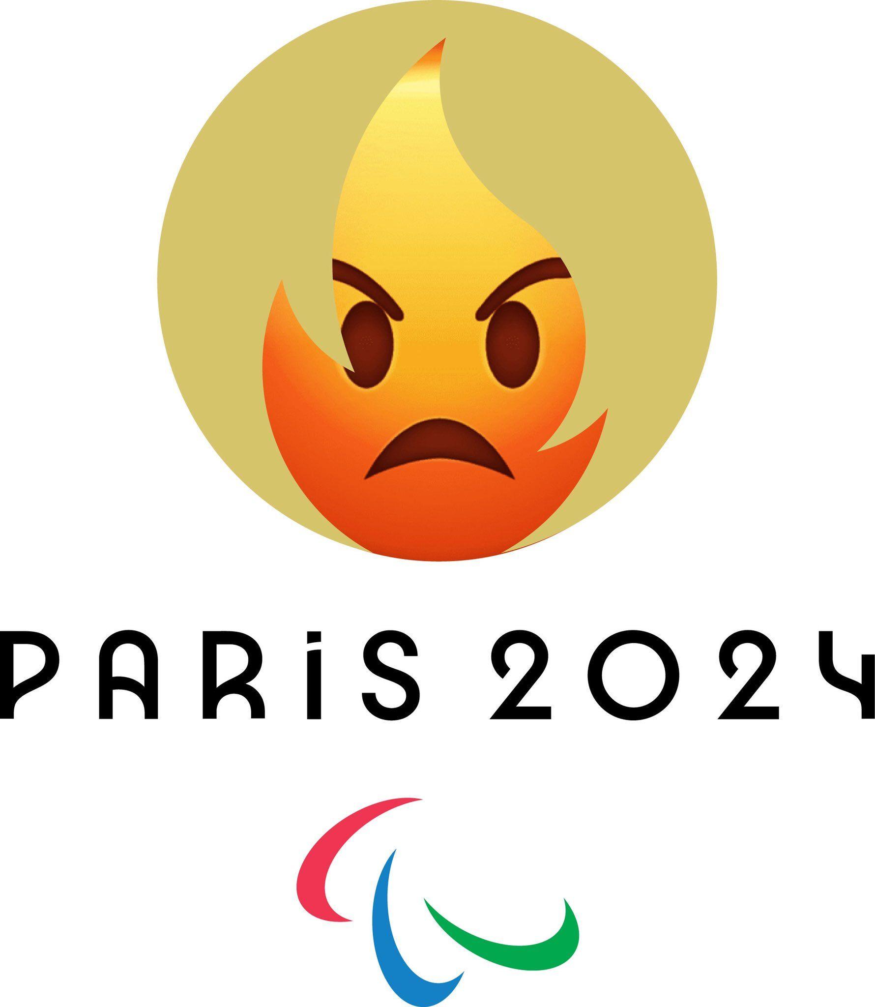 Новый логотип к Олимпиаде 2024 стал шикарным мемом - фото 455093