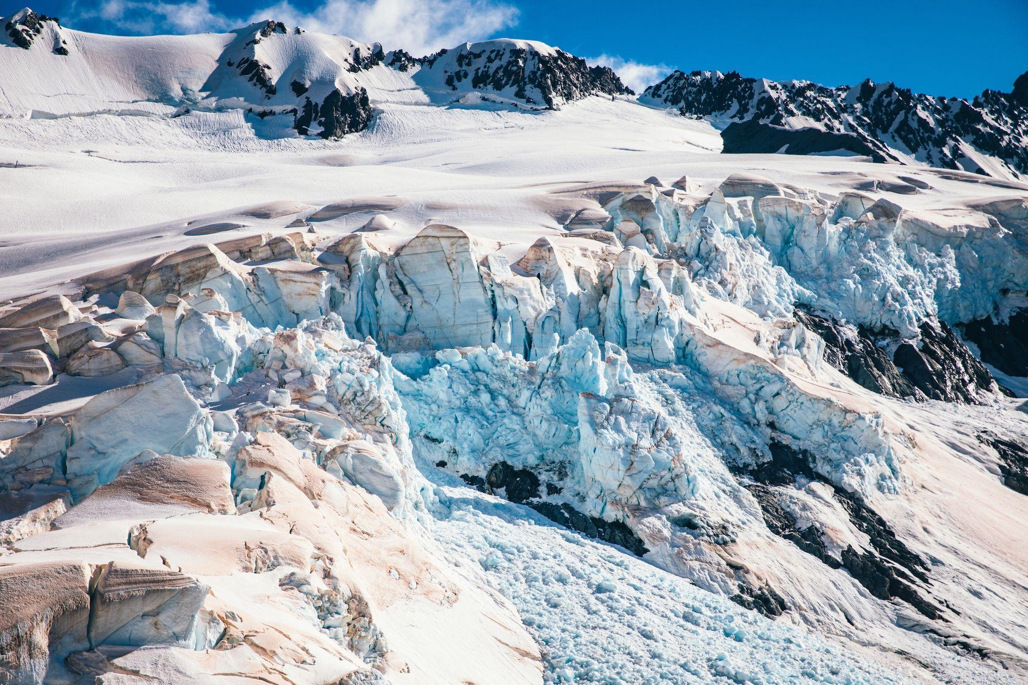 Фото дня: льодовики в Новій Зеландії почервоніли - фото 460669