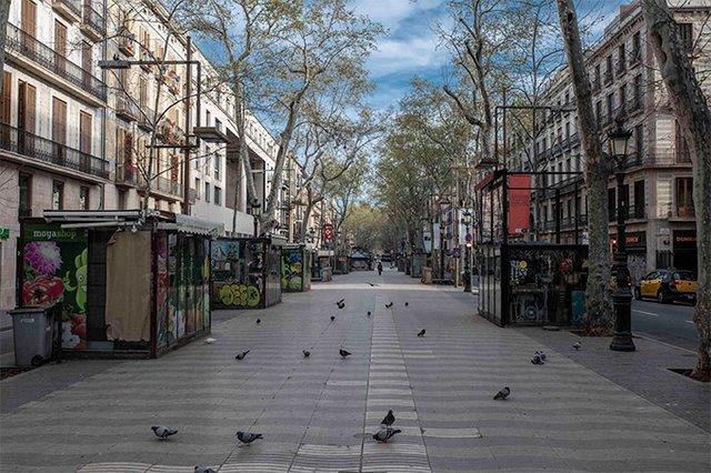 Сильні кадри: фотопроєкт про те, як виглядають опустілі вулиці мегаполісів - фото 472201