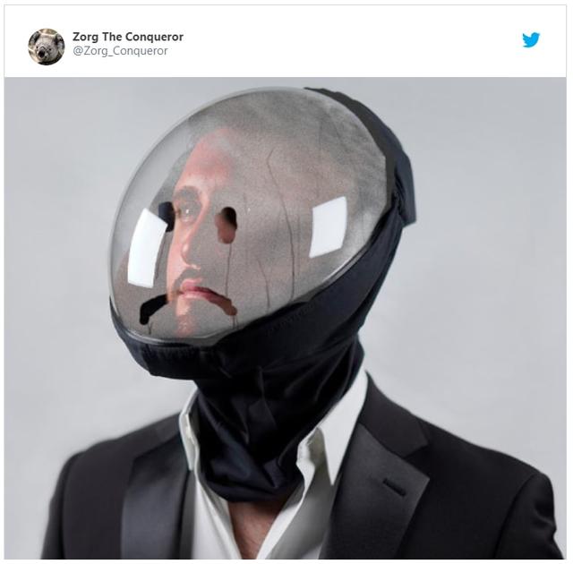 Дизайнери показали новий захисний шолом від коронавірусу, але люди відреагували мемами - фото 491987