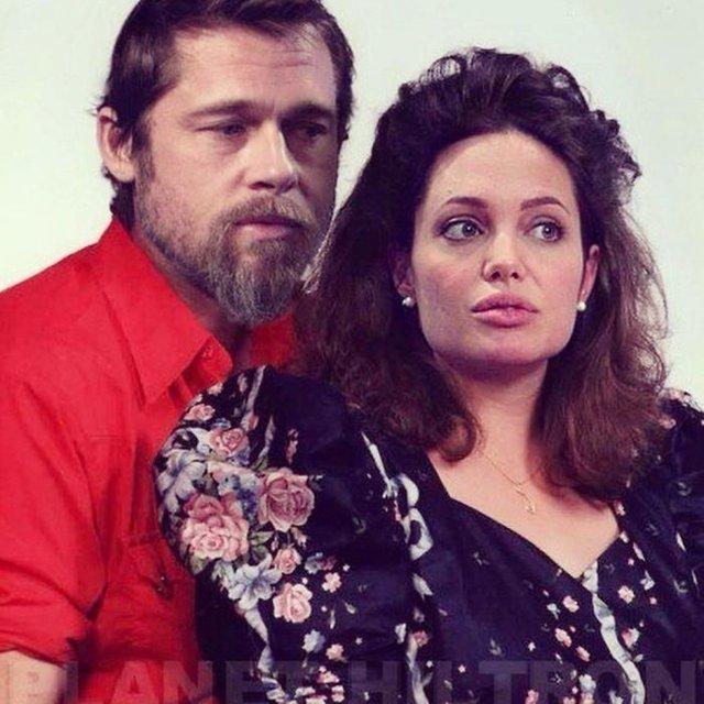 Фотошоп перетворив голлівудських зірок у звичайних людей зі смішними зачісками й одягом - фото 483413