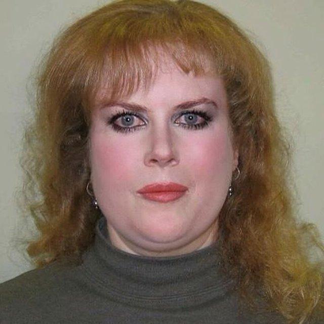 Фотошоп перетворив голлівудських зірок у звичайних людей зі смішними зачісками й одягом - фото 483420