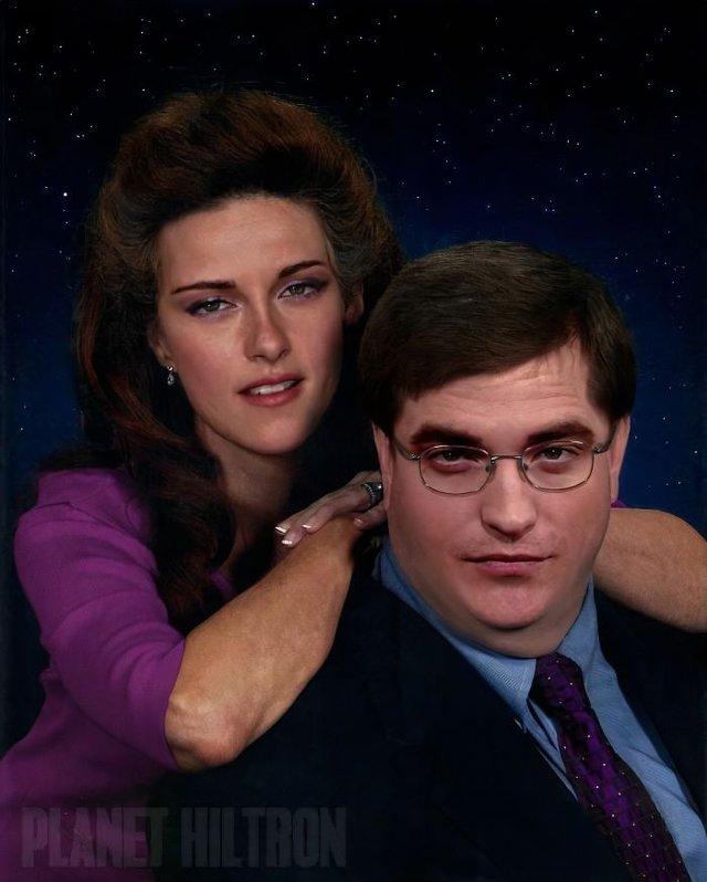 Фотошоп перетворив голлівудських зірок у звичайних людей зі смішними зачісками й одягом - фото 483424
