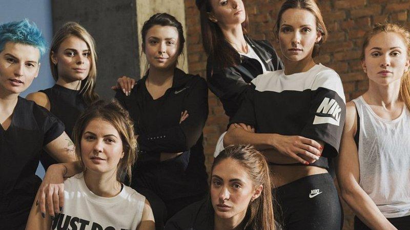 Компанія Nike зняла українських спортсменок у новій рекламній кампанії 760867425ff5b