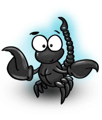 Открытки, картинки прикольные скорпион
