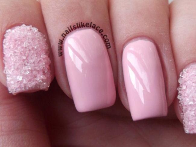 light pink nails - HD 1600×896