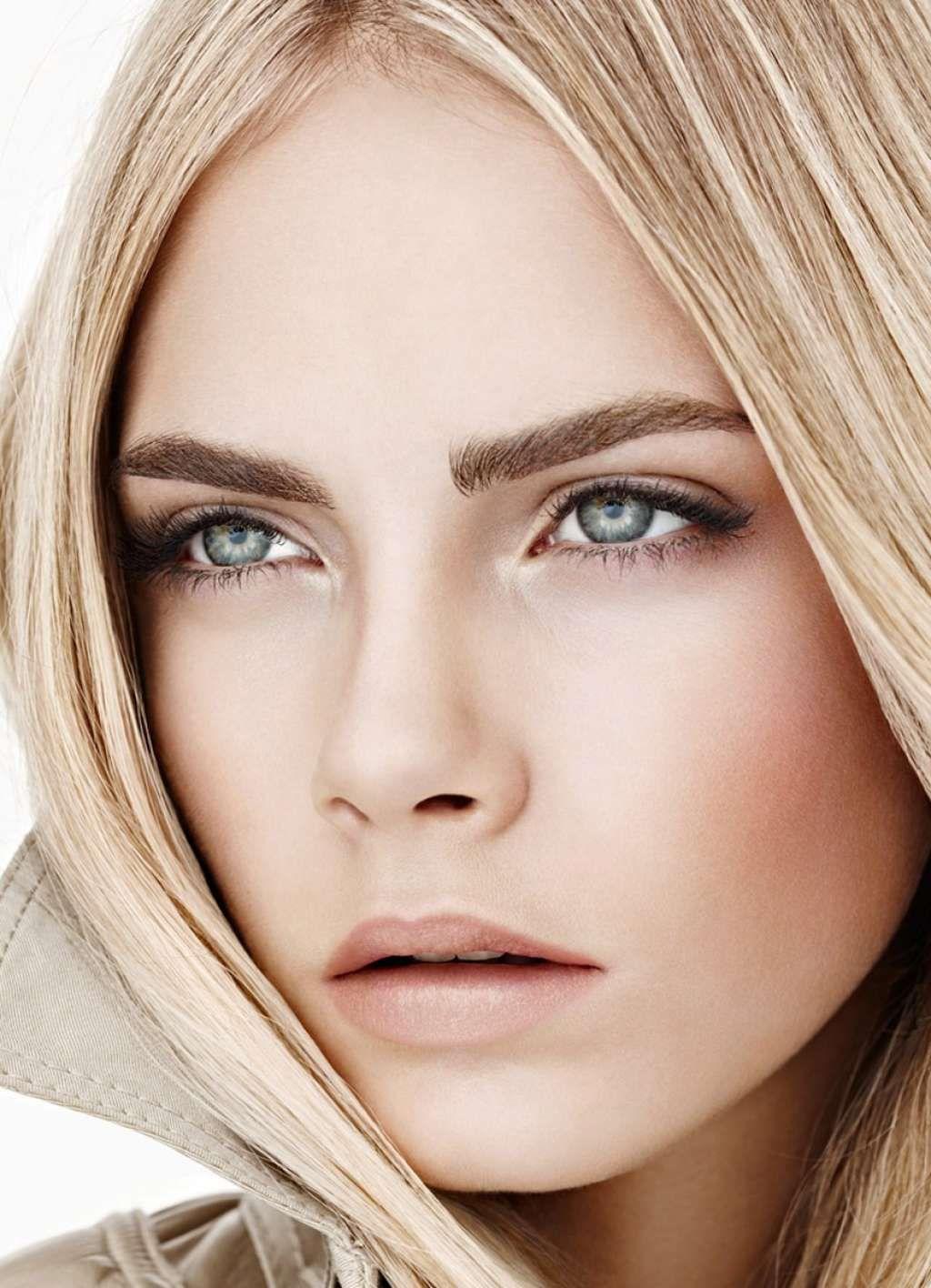 Макияж серых глаз светлых волос фото