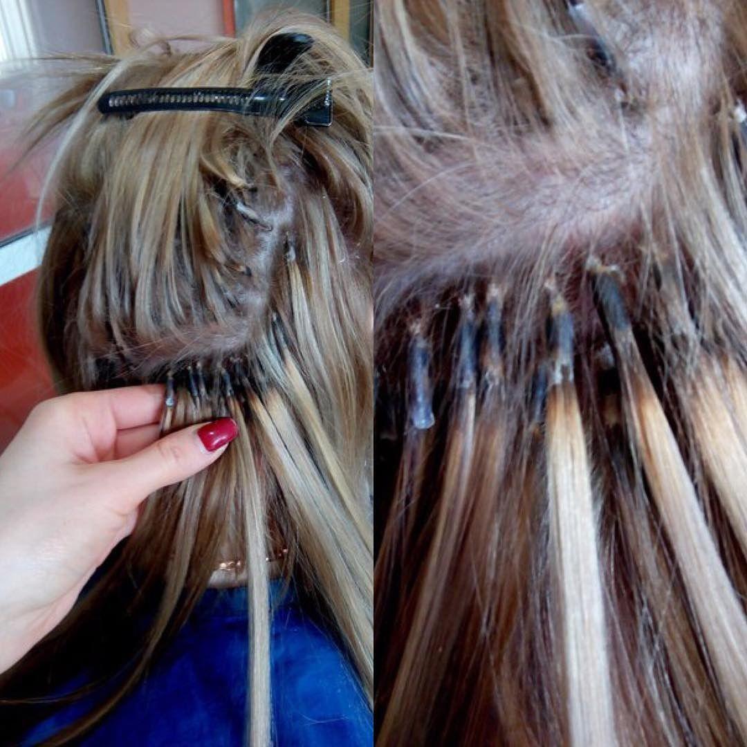 Фото с прическами на нарощенные волосы