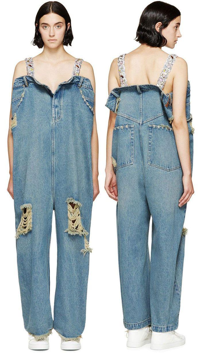 Прозорі штани і брудні джинси  безглуздий одяг 37778e15ede32