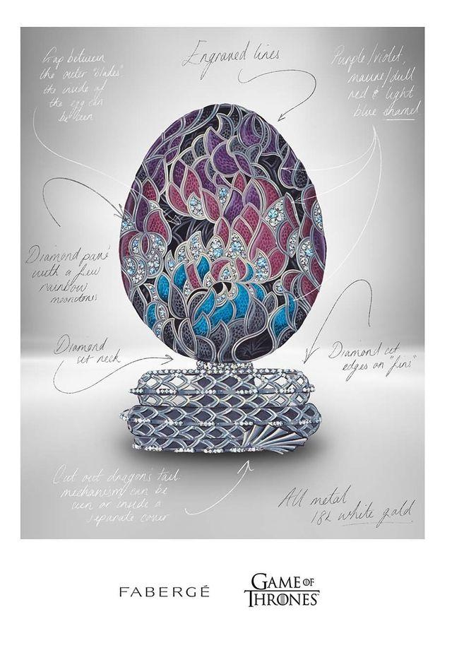 Легендарна компанія 'Фаберже' випустить яйце-дракона на честь 'Гри престолів' - фото 511451