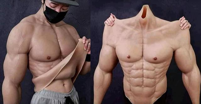 Створили костюм, який перетворює карантинний жирок на накачані м'язи - фото 512555