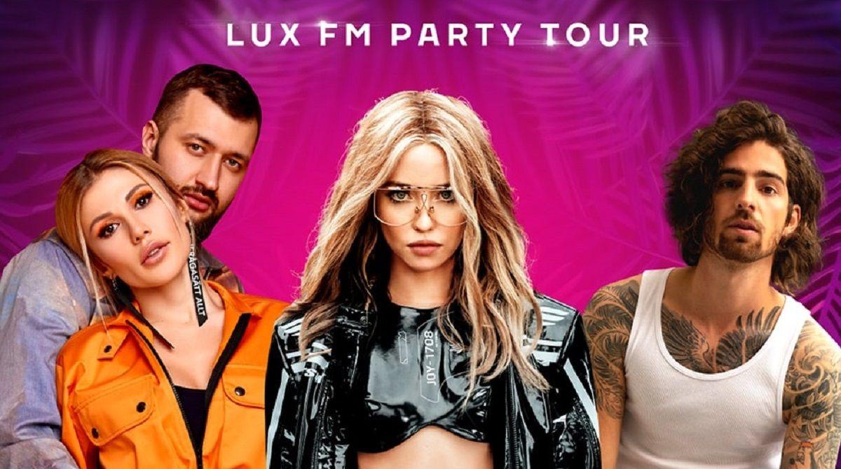 LuxFMPartyTour: TamerlanAlena, DOROFEEVA і DANTES запалять у Дніпрі - Люкс  FM